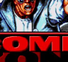 Comix Zone Genesis Megadrive Sega Start menu screenshot Sticker