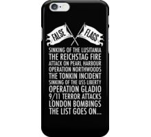 False Flags iPhone Case/Skin
