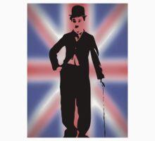 Charlie Chaplin T Shirt Best of British by kmercury