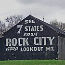 Rock City Barn  by lynell