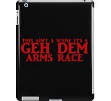 FOB lyrics I iPad Case/Skin
