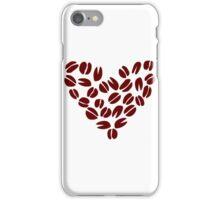 Coffee Bean Heart iPhone Case/Skin