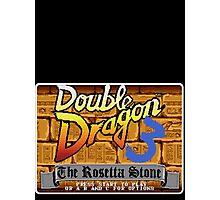 Double Dragon Genesis Megadrive Sega Start menu screenshot Photographic Print