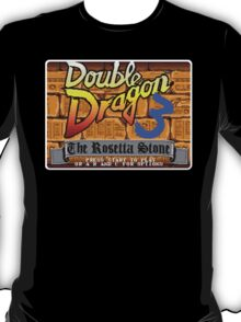 Double Dragon Genesis Megadrive Sega Start menu screenshot T-Shirt