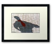 SMART SHADOW Framed Print