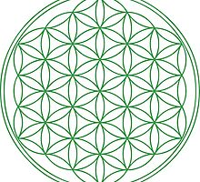 Flower of Life- Sacred Geometry by fearandclothing