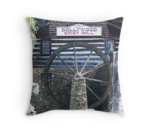 Grist Mill at  Throw Pillow