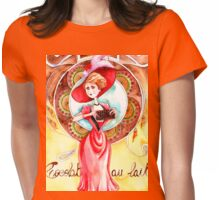 8-The belgian chocolate bar Womens Fitted T-Shirt