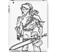 Death Link (Line Art) iPad Case/Skin