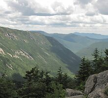 Looking down Crawford Notch from the Summit of Mt Avalon by maxy