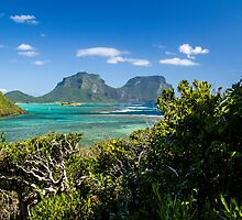 Lord Howe Island Afternoon by Stephen Quennell