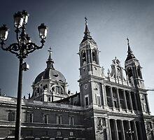 Almudena Cathedral by Milos Markovic