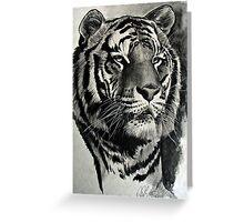 Tiger. Greeting Card