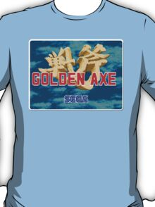 Golden Axe Genesis Megadrive Sega Start menu screenshot T-Shirt