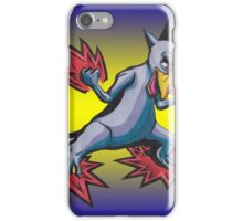 Psychic Attack Golduck  iPhone Case/Skin