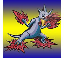 Psychic Attack Golduck  Photographic Print