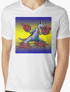 Psychic Attack Golduck  Mens V-Neck T-Shirt