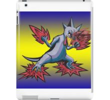 Psychic Attack Golduck  iPad Case/Skin