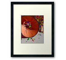 Shavings Framed Print