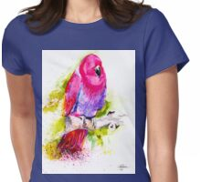 Eclectus Parrot Womens Fitted T-Shirt