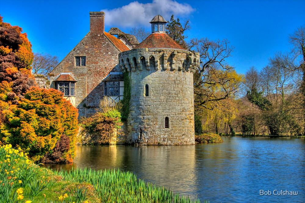 Scotney Castle, Kent, England by Bob Culshaw