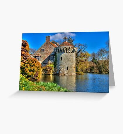 Scotney Castle, Kent, England Greeting Card