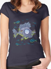 Zombie Fish Women's Fitted Scoop T-Shirt