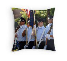 Color Gurad.. Throw Pillow
