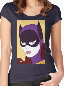 60s Bat Girl - Nagel Style Women's Fitted Scoop T-Shirt