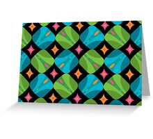 Kaleidoscope card Greeting Card