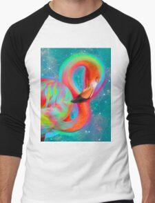 Color Outside the Lines Men's Baseball ¾ T-Shirt