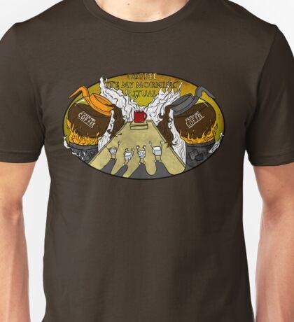 Coffee Ritual! Unisex T-Shirt