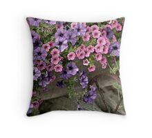 Flower Cart (3) Throw Pillow