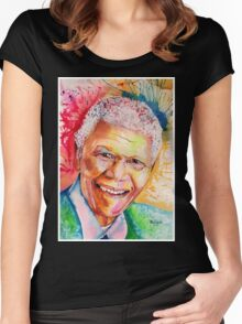 My colors for Mandela Women's Fitted Scoop T-Shirt