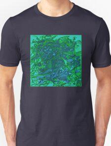 Samba dance - sea mood Unisex T-Shirt