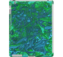 Samba dance - sea mood iPad Case/Skin