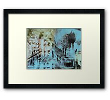 Urban Architecture Abstract Framed Print