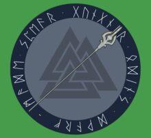 Gungnir, Odin's Dwarf-Made Spear Baby Tee