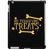 My terrifying treats- perfect funny design for Halloween! iPad Case/Skin