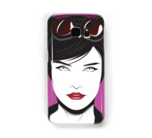 Cat Woman - Nagel Style Samsung Galaxy Case/Skin