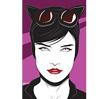 Cat Woman - Nagel Style Photographic Print