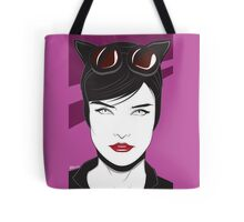 Cat Woman - Nagel Style Tote Bag