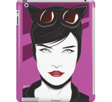 Cat Woman - Nagel Style iPad Case/Skin