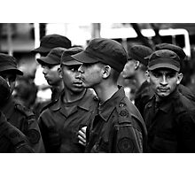 Colombian police Photographic Print