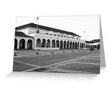 The emblematic Pavilion in Bondi Beach in B&W Greeting Card