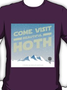 Hoth travel poster T-Shirt