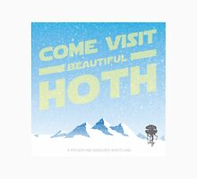 Hoth travel poster Men's Baseball ¾ T-Shirt