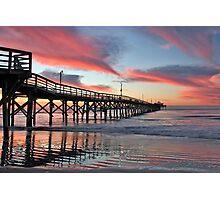 Lone Pier Photographic Print