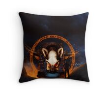 Nine-Tails... Throw Pillow