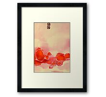if you could fly, would you fly to me? Framed Print